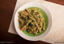 Broccoli Pesto- anti-cancer recipes- cook for your life