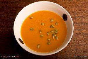 Sopa de Calabaza de Invierno Butternut Recipe Image