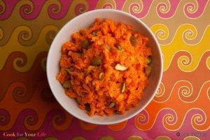 Dulce Halva de Zanahorias Recipe Image