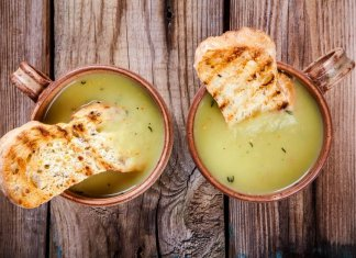 Celery root & tahini soup - Cook for Your Life- anti-cancer recipes