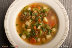 Chicken Chorizo Soup Recipe Image