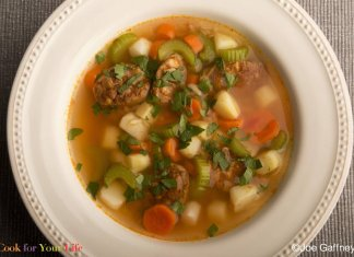chicken chorizo soup- cook for your life- anti-cancer recipes