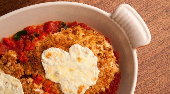 Chicken Parmesan- anti-cancer recipes- cook for your life