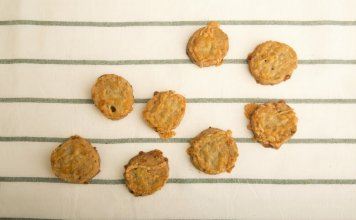 Chive Cayenne Shortbread Cookies- anti-cancer recipes- cook for your life