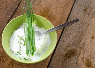 Creamy Chive Vinaigrette- cook for your life- anti-cancer recipes