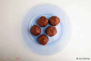 Chocolate Beet Cupcakes Recipe Image