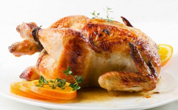 chicken, roasted, thyme, citrus, orange- Citrus Thyme Roasted Chicken- anti-cancer recipes- cook for your life