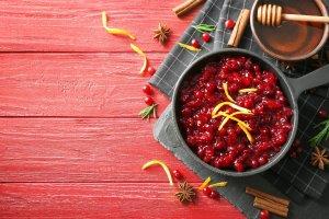 Cranberry-Orange Sauce Recipe Image