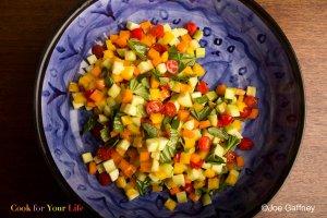 Summer Garden Salad Recipe Image