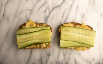 Chickpea Cucumber Toast- anti-cancer recipes- cook for your life