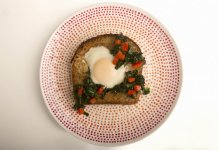 Egg in a Hole with Kale cook for your life