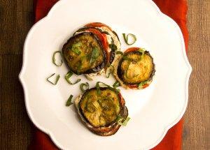 Eggplant Parmigiana Sliders Recipe Image