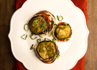 Eggplant Parmigiana Sliders- cook for your life- anti-cancer recipes