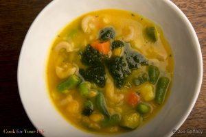 Sopa de Vegetales de Otoño Image