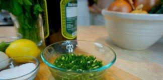 spicy gremolata sauce