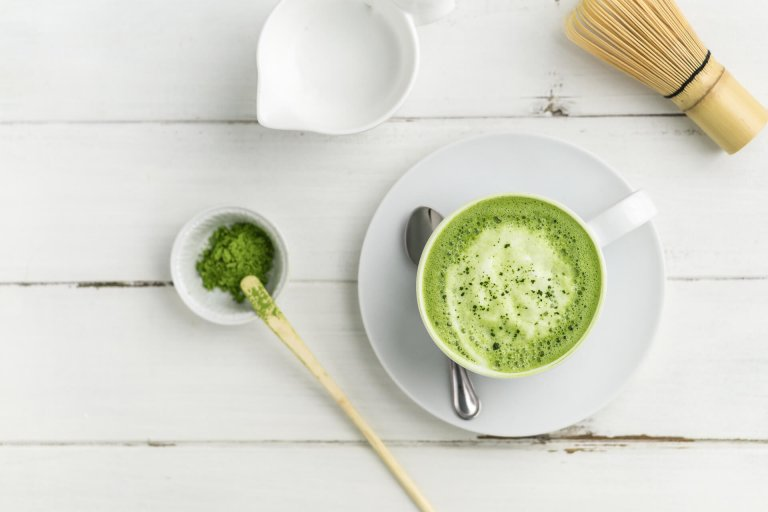 Homemade Matcha Latte Recipe Image