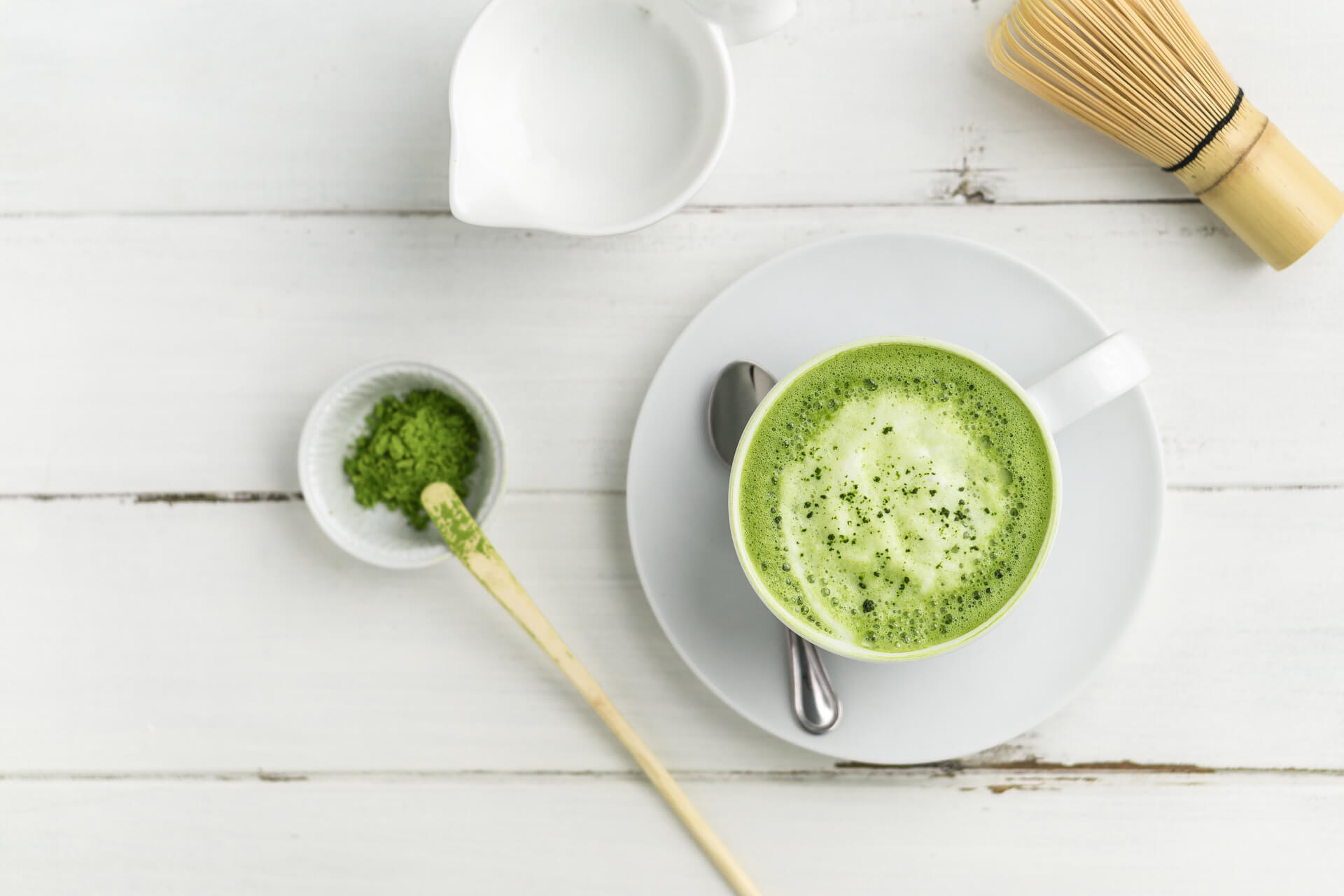 Homemade Matcha Latte Image