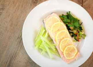 basic poached salmon- cook for your life