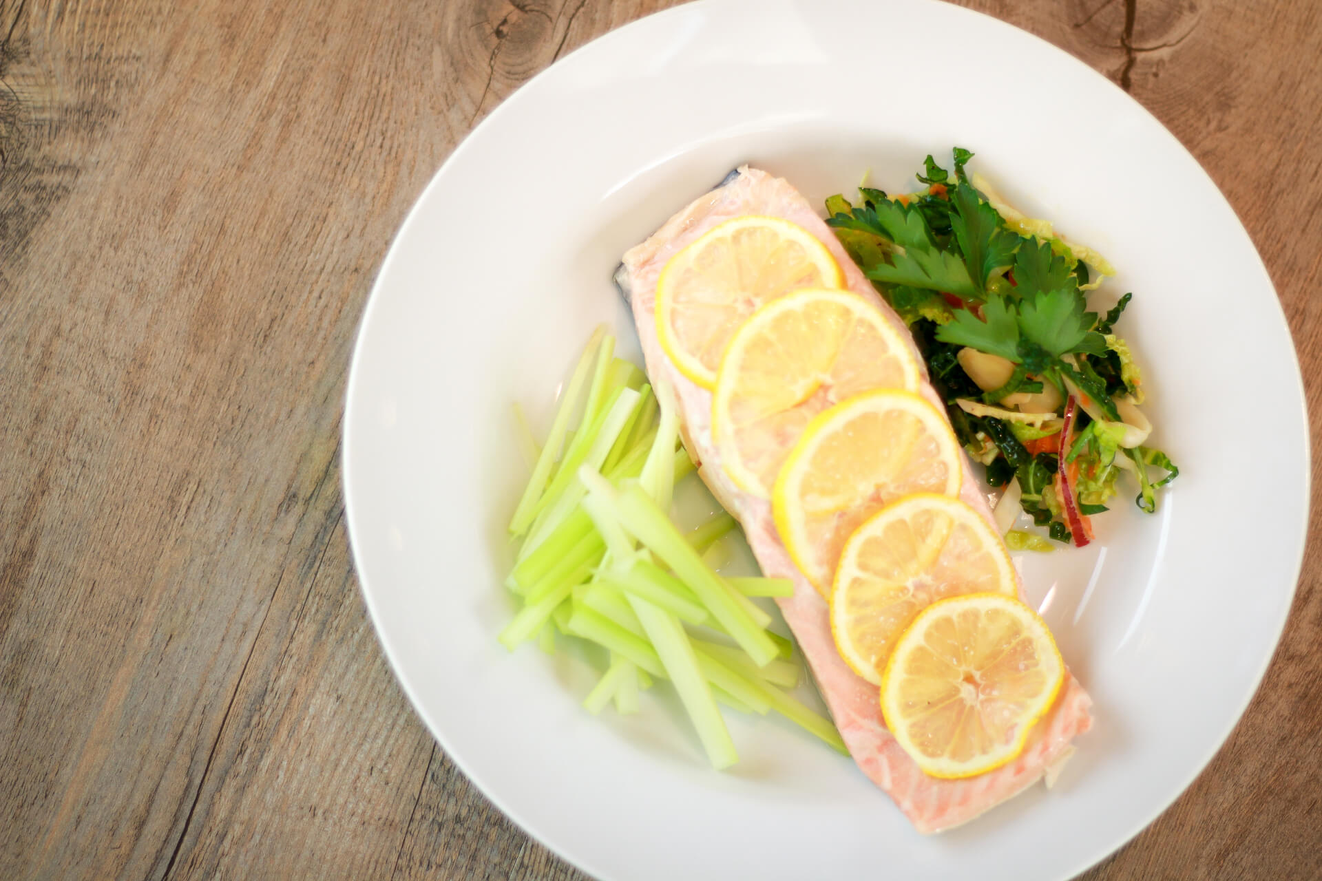 Basic Poached Salmon Image