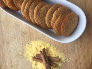 Dominican Cornmeal Porridge Cookies Recipe Image