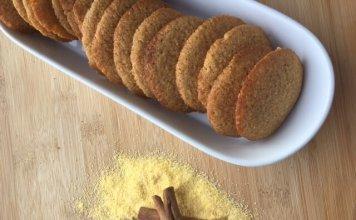 galletitas de maiz - cook for your life