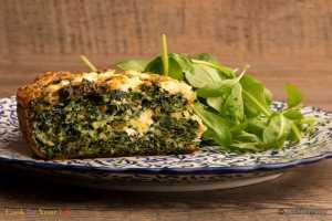 Kale & Feta Cake Recipe Image