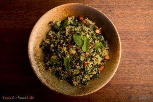 Tabbouleh de Col Y Quinoa Recipe Image