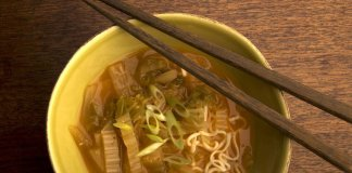 kimchi, broth, noodles- Kimchi Broth- cook for your life- anti-cancer recipes