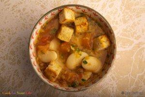 Sopa de Puerros y Frijoles Lima Recipe Image