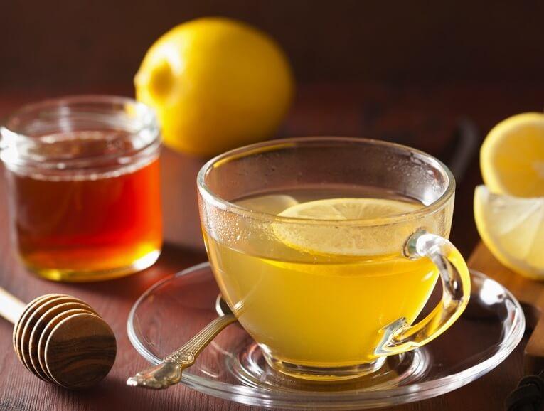 Infusión de Limón y Miel Caliente Recipe Image