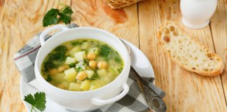 lemony celery root chickpea soup - cook for your life - anti-cancer recipes