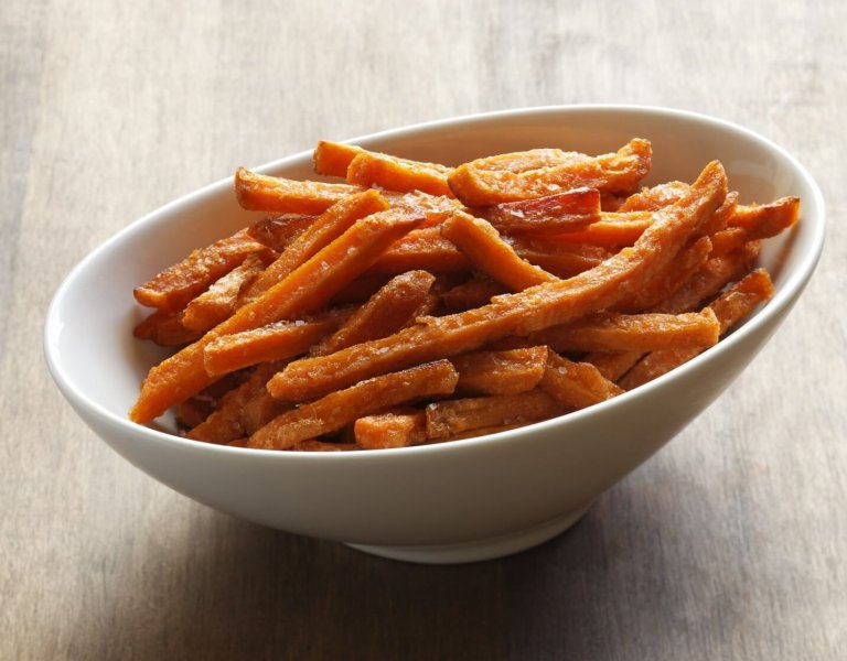 Maple Sweet Potato 'Fries' Recipe Image