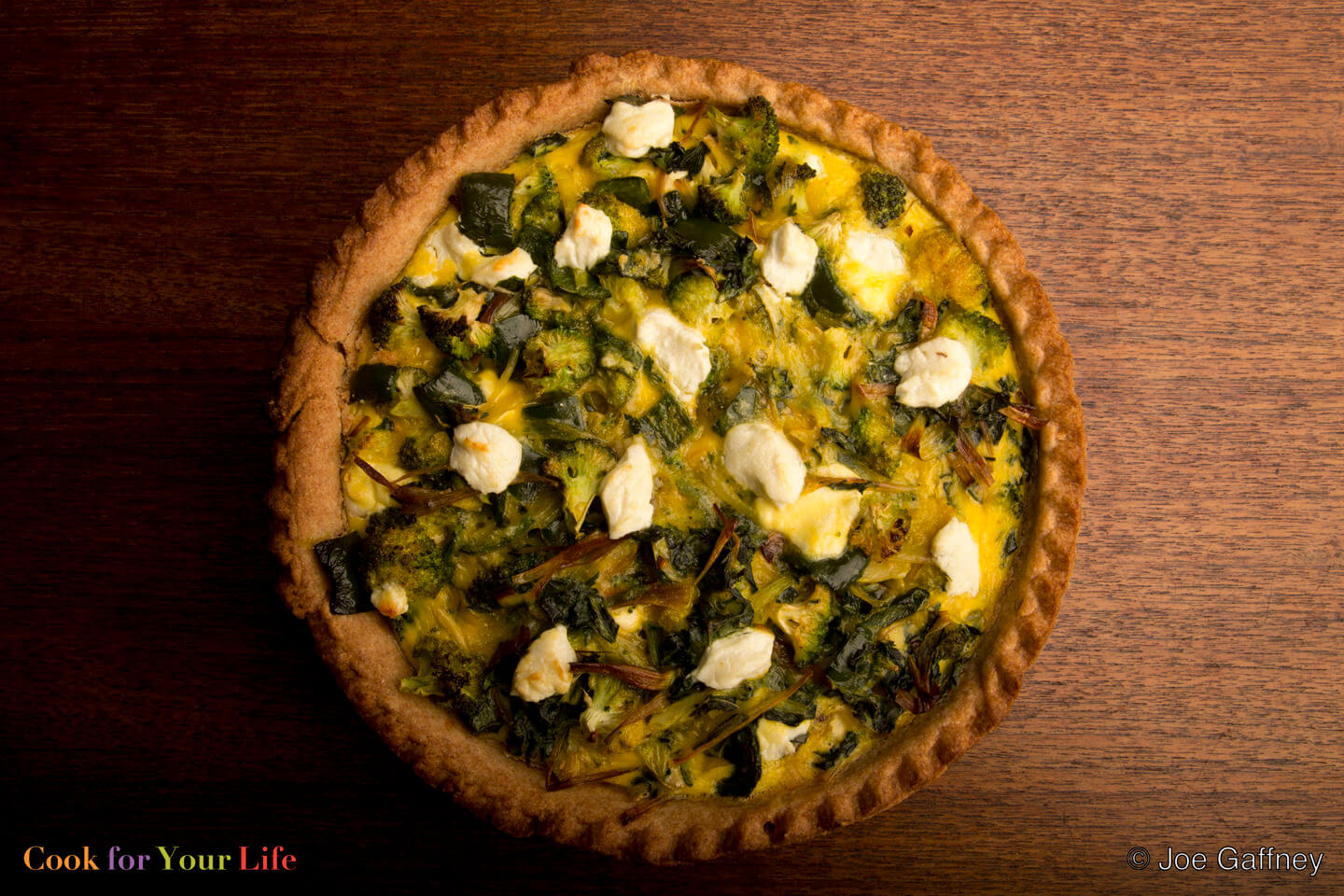 Meg's Broccoli Quiche - Cook For Your Life- anti-cancer recipes