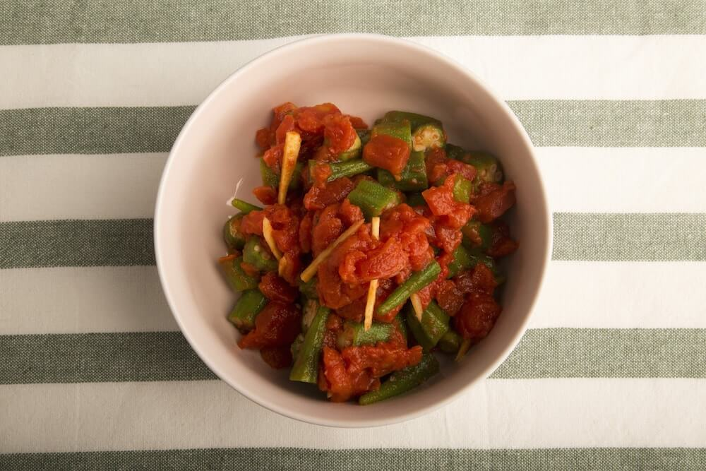 Okra & Tomato Stew - cook for your life- southern- anti cancer recipes- cook for your life