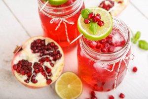 Pomegranate Cooler Recipe Image