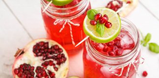 Pomegranate Cooler - Cook For Your Life- anti-cancer recipes