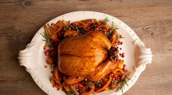 Whole Pomegranate Glazed Chicken - Cook For Your Life- anti-cancer recipes