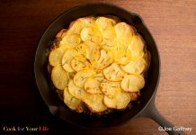 Potato & Leek Galette- anti-cancer recipes- cook for your life