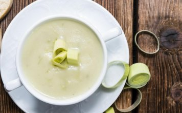 leek and potato soup- anti cancer recipe- cook for your life