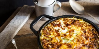 Potato-Leek Breakfast Casserole-cook for your life- anti-cancer recipes