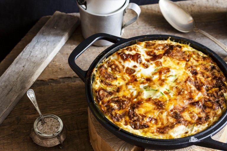 Potato-Leek Breakfast Casserole Recipe Image