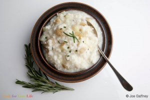 Potato & Rosemary Risotto Recipe Image