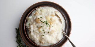 Potato & Rosemary Risotto - Cook For Your Life- anti-cancer recipes