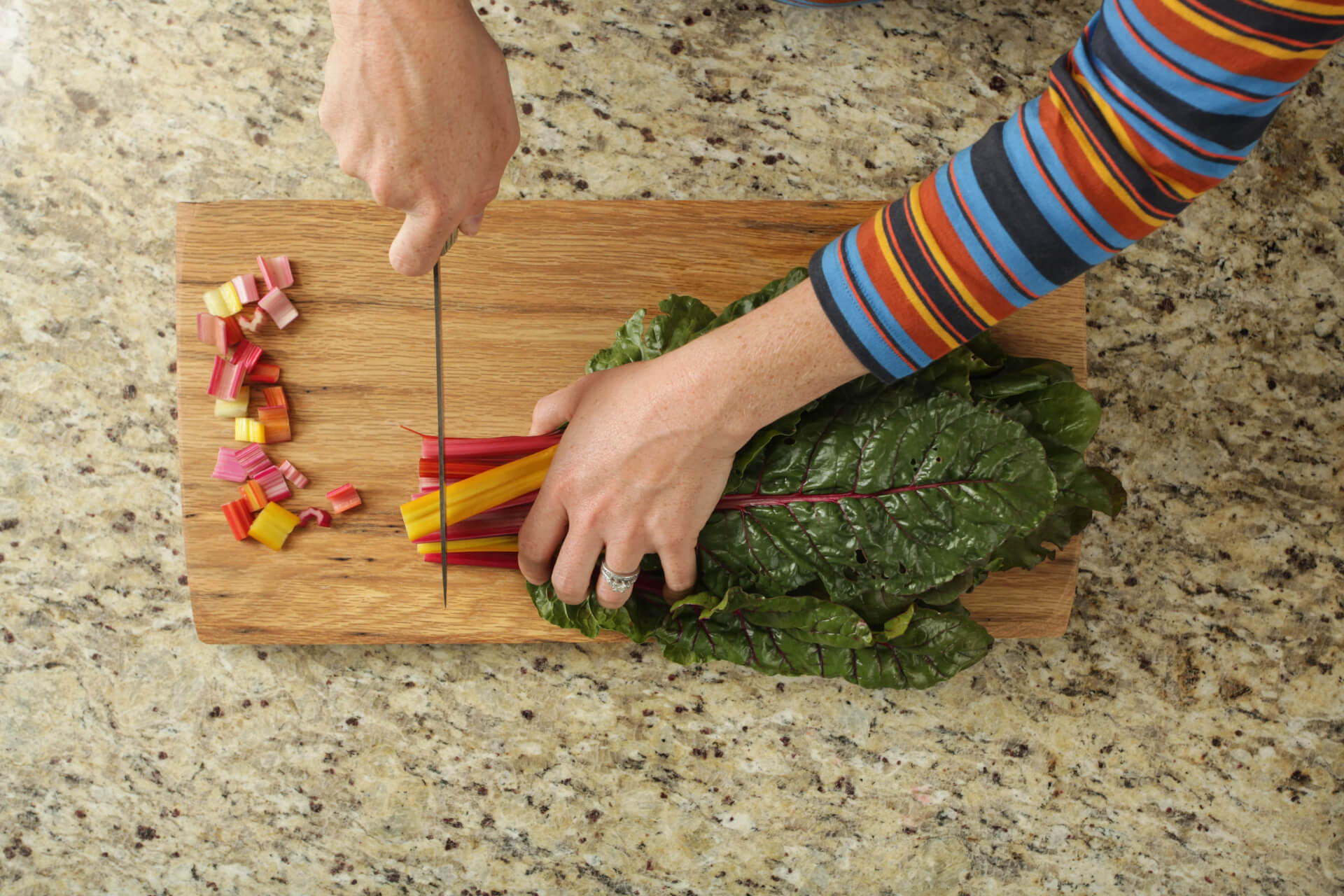 How to Prep Swiss Chard Image