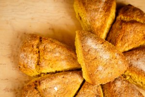 Pumpkin Scones Recipe Image