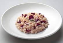 grilled radicchio risotto- cook for your life-anti cancer recipes