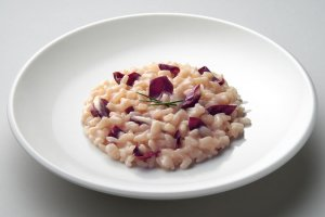Risotto with Grilled Radicchio Recipe Image