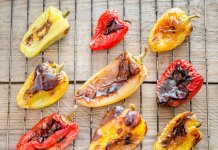 Marinated Roasted Peppers- anti-cancer recipes- cook for your life
