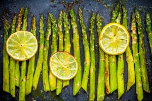 Roasted Asparagus Salad Recipe Image