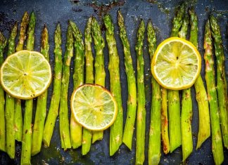 roasted asparagus salad- cook for your life- anti-cancer recipes